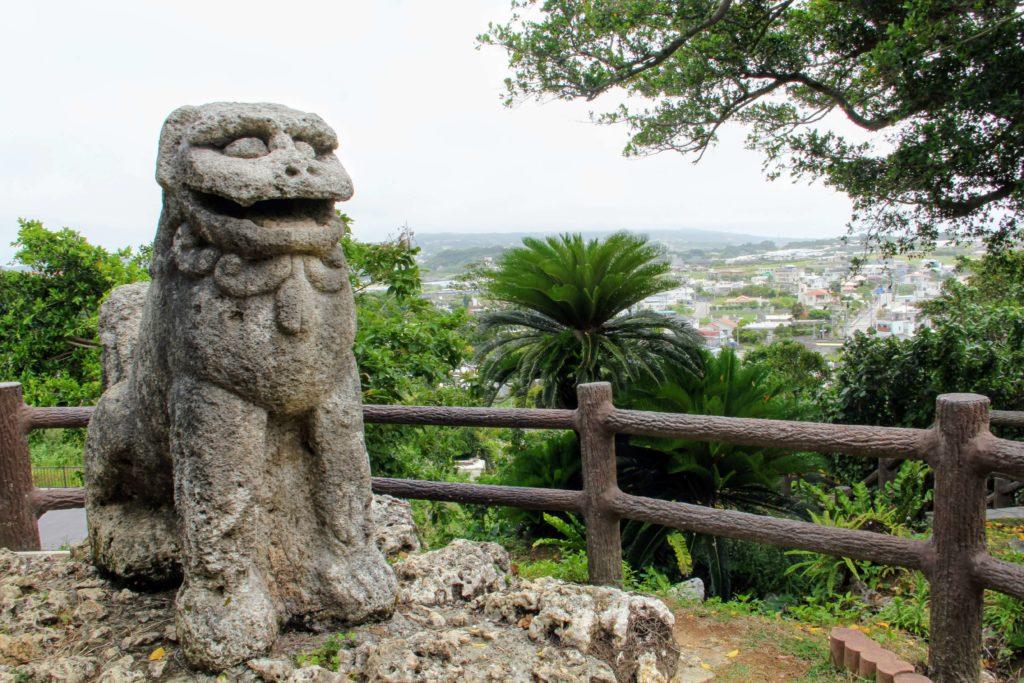 富盛の石彫大獅子の大きさ