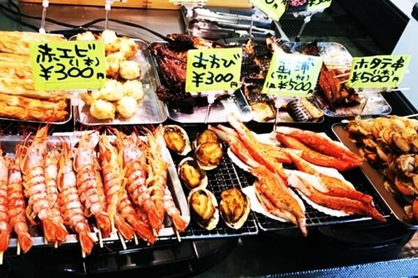 糸満漁業協同組合「お魚センター」で販売されているお魚惣菜