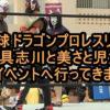 琉球ドラゴンプロレスリング イオン具志川と美さと児童園の無料イベントへ行ってきました!