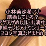 小林美沙希アナは結婚している?『アゲアゲめし』に出演中の沖縄テレビアナウンサーのミスコン写真などまとめ!