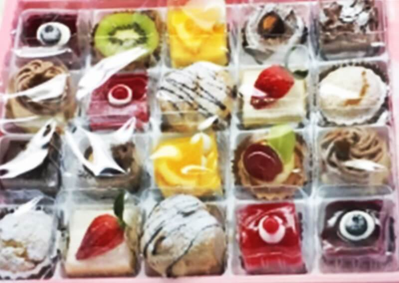 のぼりや製菓(ケーキののぼりや)プチケーキセット20個入り