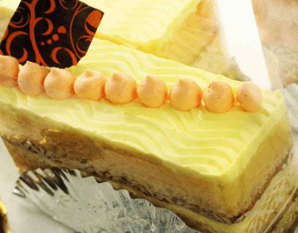 『御菓子処 末廣』レモンチーズケーキ(カット)