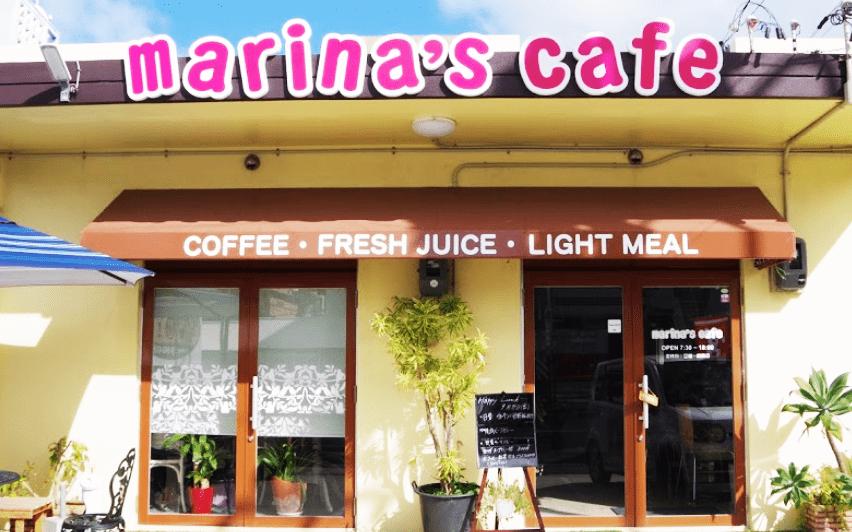 marina's cafe(マリナーズ カフェ)店頭写真