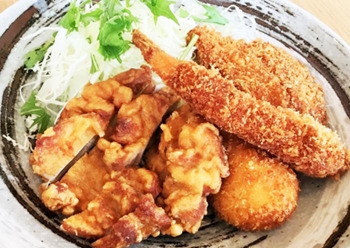 『咲レストラン』ミックス定食のおかず