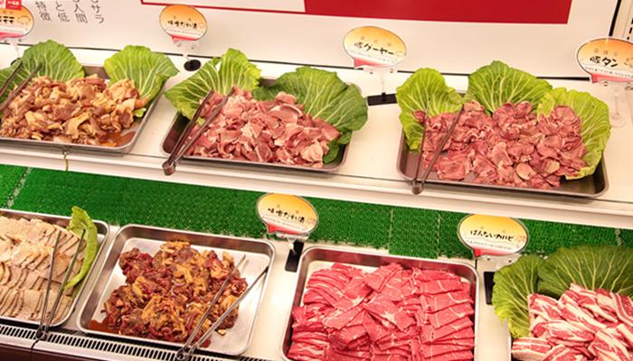 『沖縄式島豚焼肉ばんない』食べ放題のお肉