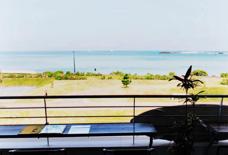『Hawaiian Cafe Dining KOA』テラス席からの眺め