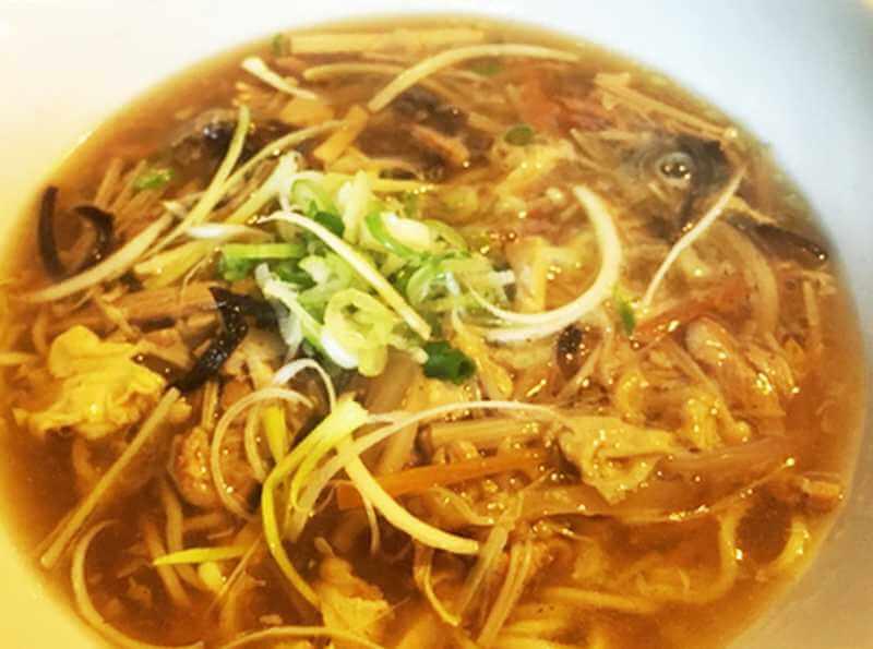 台湾小吃 花蓮 酸辣麺(サンラータンのラーメン)