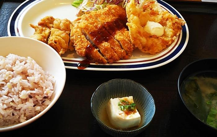 『レストランカイヤン』ミックス定食