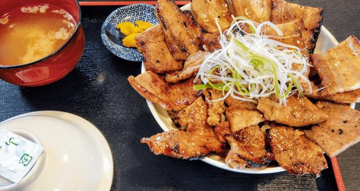 『天兎屋』炭焼き豚丼