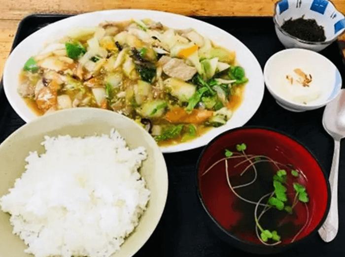 『ドカメン』八宝菜