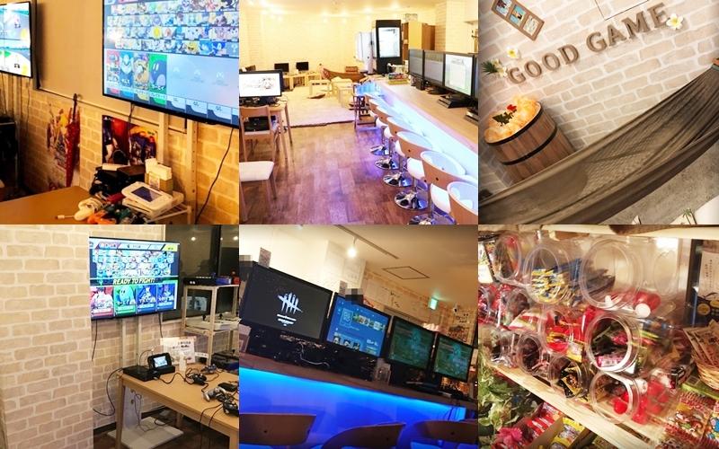 『遊べる駄菓子ボードゲームバーGG(Good Game)』店内の雰囲気
