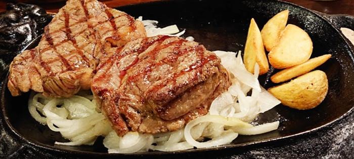 『ごりらパンチ』赤身肉&サーロインセット