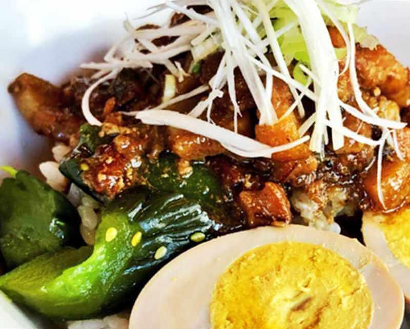 台湾小吃 花蓮 魯肉飯