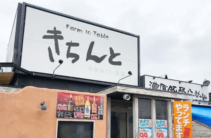 『きちんと南風原山川店』店頭写真