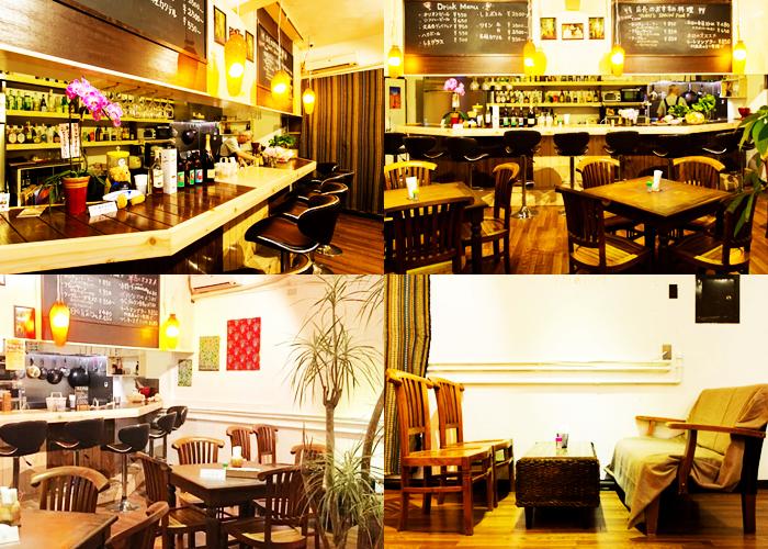 『Asian Dining テラコヤ』店内の雰囲気