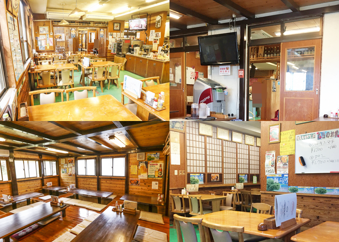 『海鮮料理 浜の家』店内の雰囲気