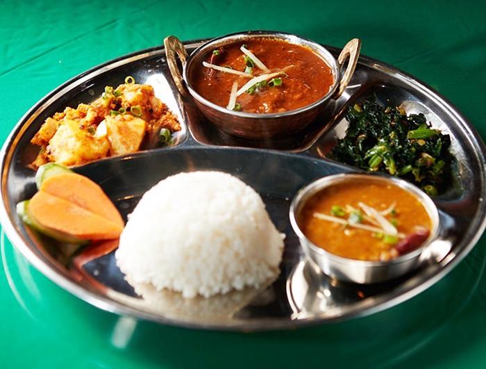 『インド料理 アティティ(Atithi)』ネパールカナセット