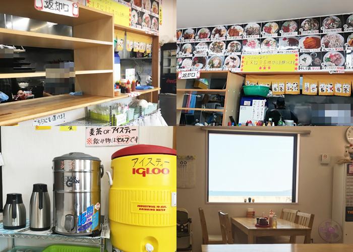 『たけのこ食堂』店内の雰囲気