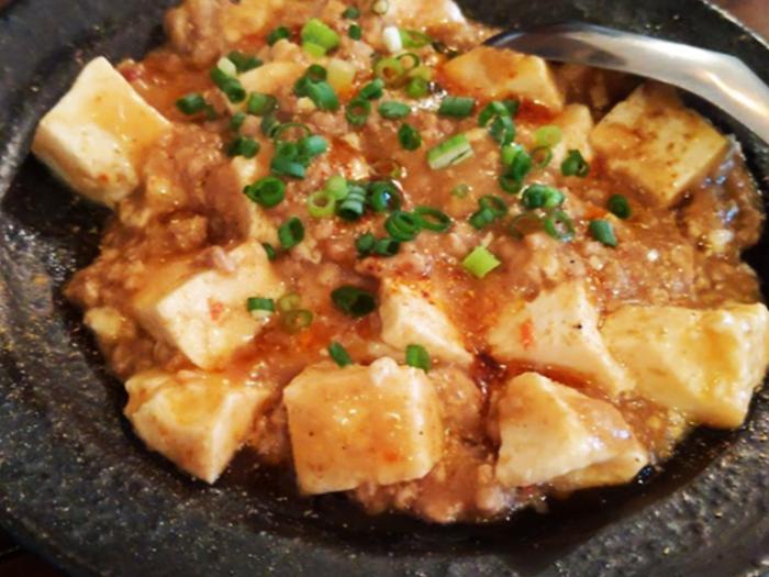 『大石餃子店』麻婆豆腐