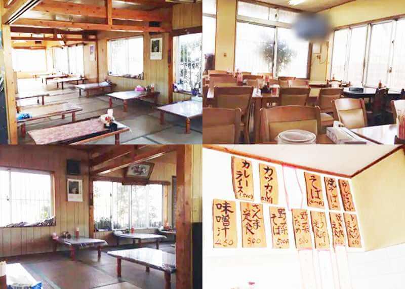 『丸徳食堂』店内の雰囲気