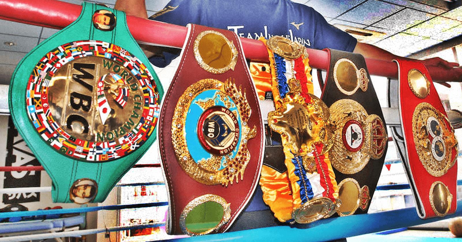 沖縄県ボクシング世界チャンピオン