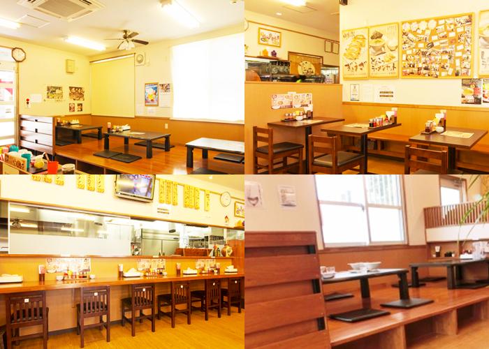 『らぁ麺 悠心』店内の雰囲気