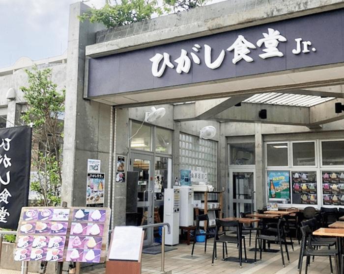 『ひがし食堂Jr』店頭写真
