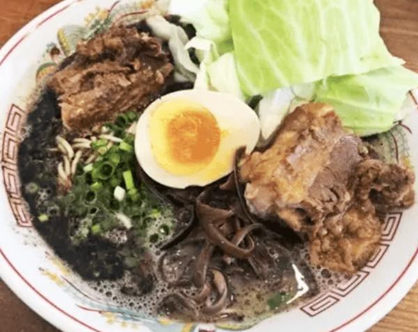 『熊本ラーメン 育元 経塚店』ターロー麺