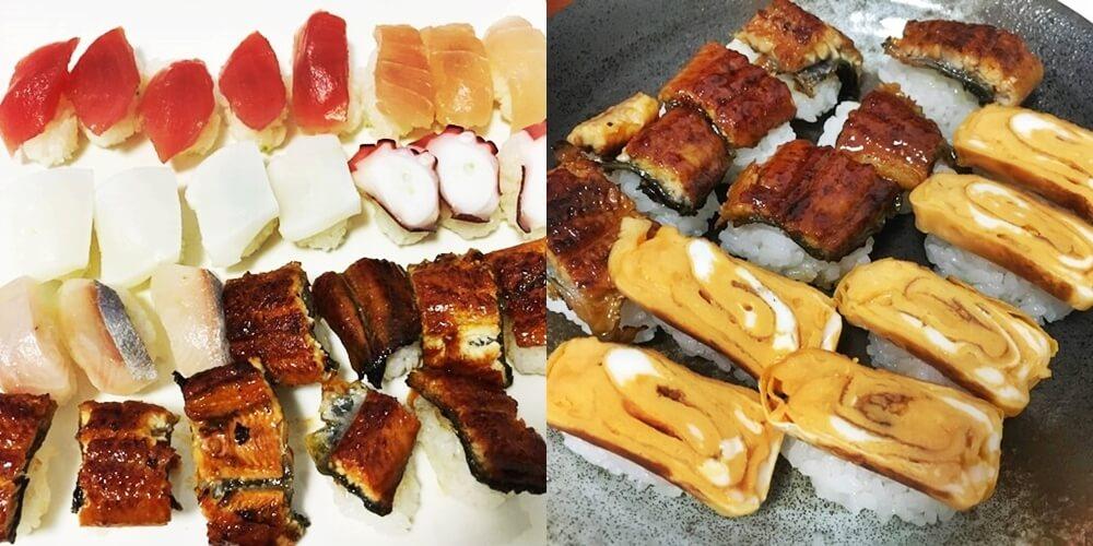 おうち寿司 完成品