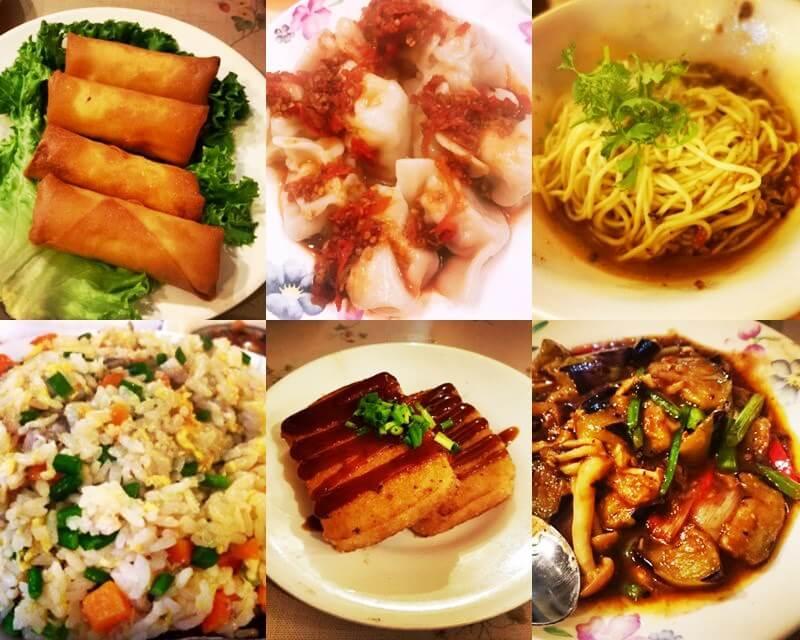 青島食堂 料理