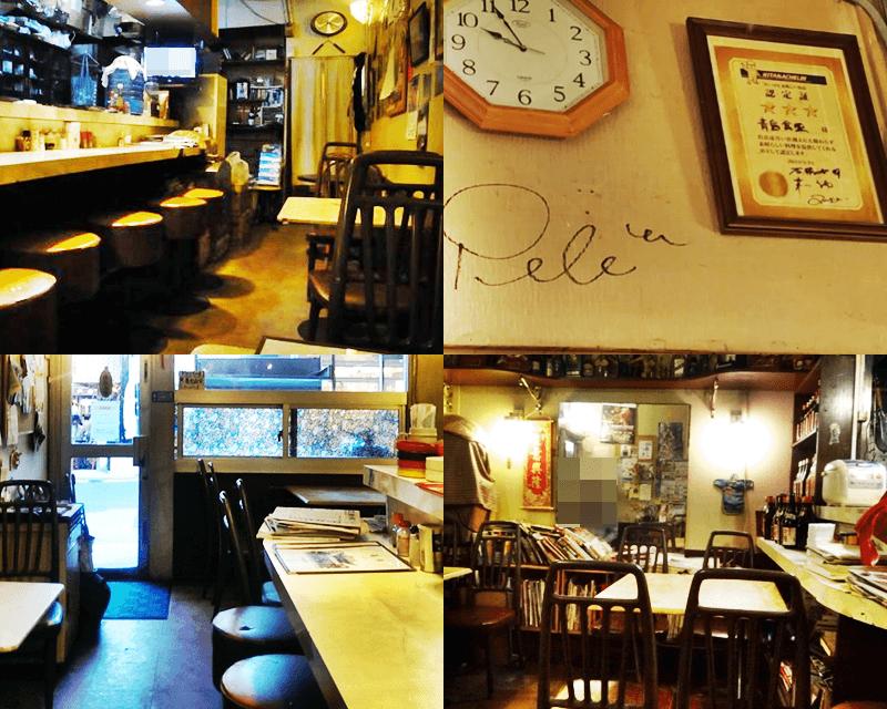 青島食堂 店内の雰囲気