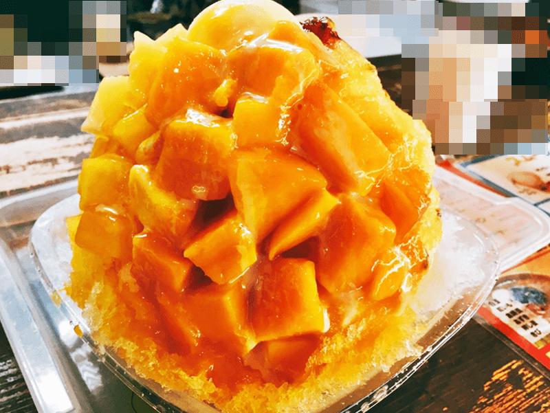 琉冰 かき氷(トロピカルフルーツ)