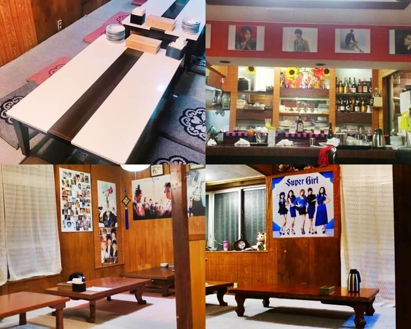 韓国食堂アリラン 店内の雰囲気