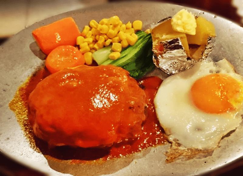 ステーキハウス チャコオキナワ ハンバーグステーキ