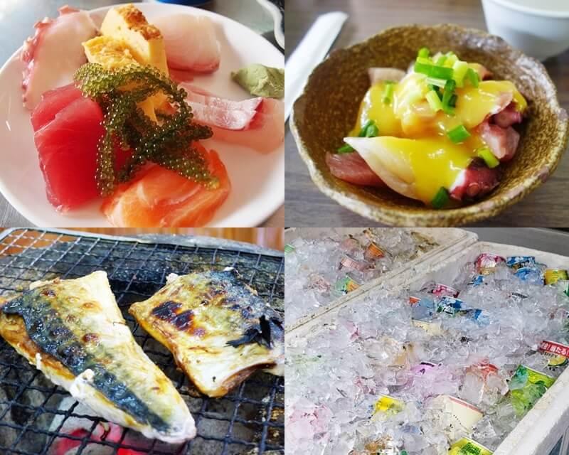 節子鮮魚店 料理等
