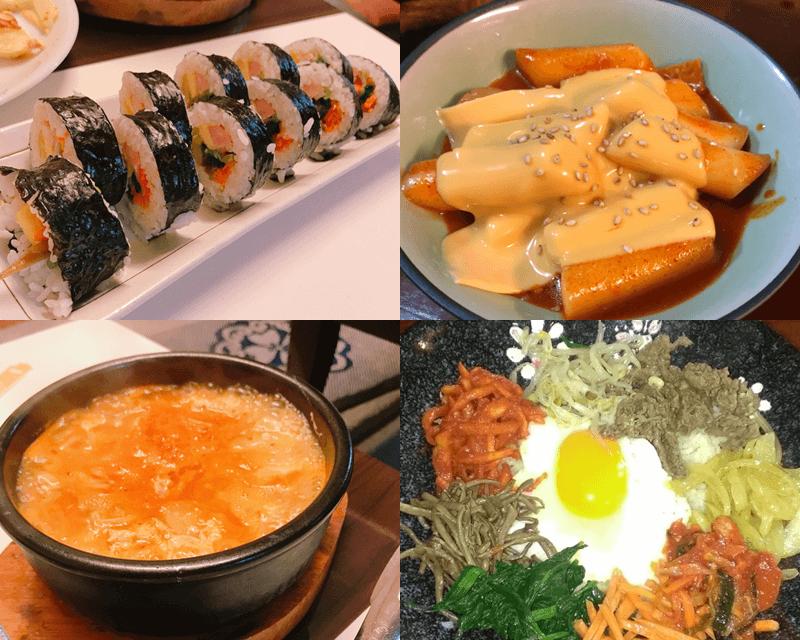 韓国食堂アリラン 料理