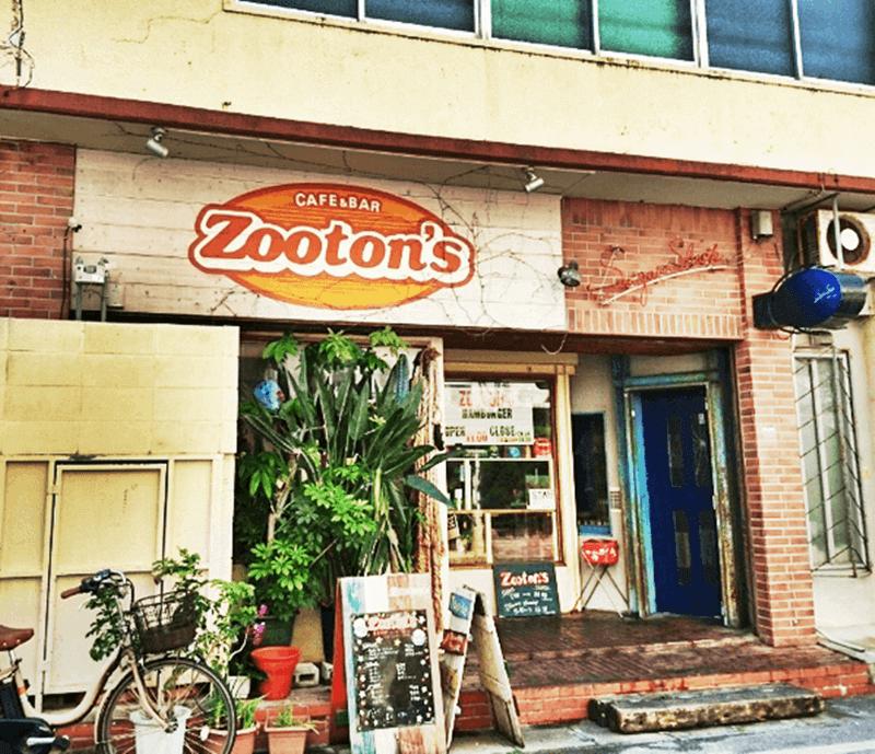 ZOOTONS(ズートンズ)店頭