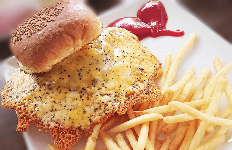キャプテンカンガルー チーズチーズバーガー