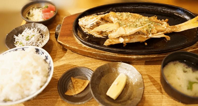 糸満漁民食堂 イマイユのバター焼き定食