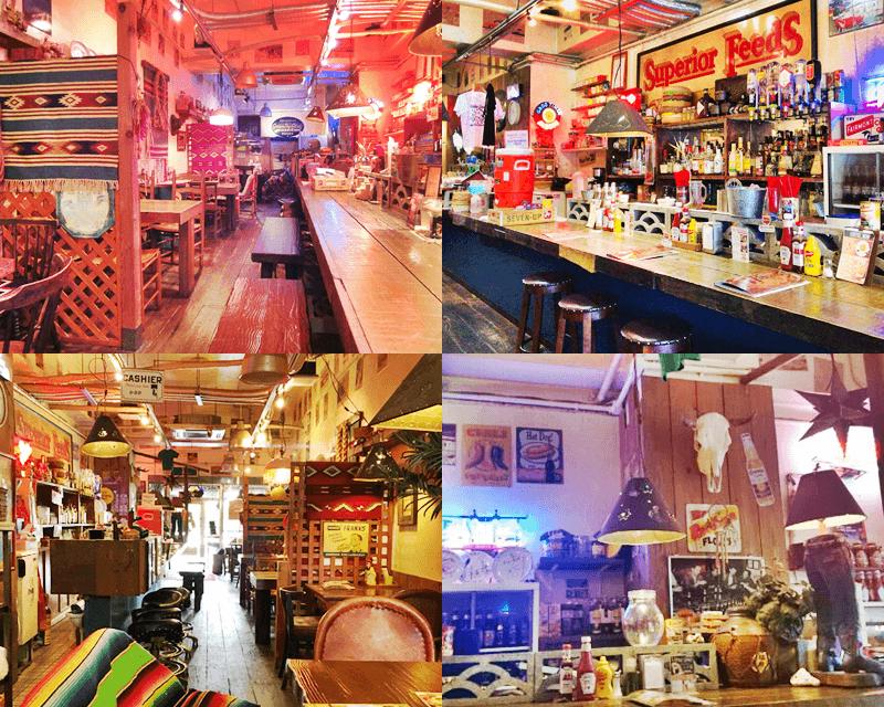 アメリカ食堂 店内の雰囲気