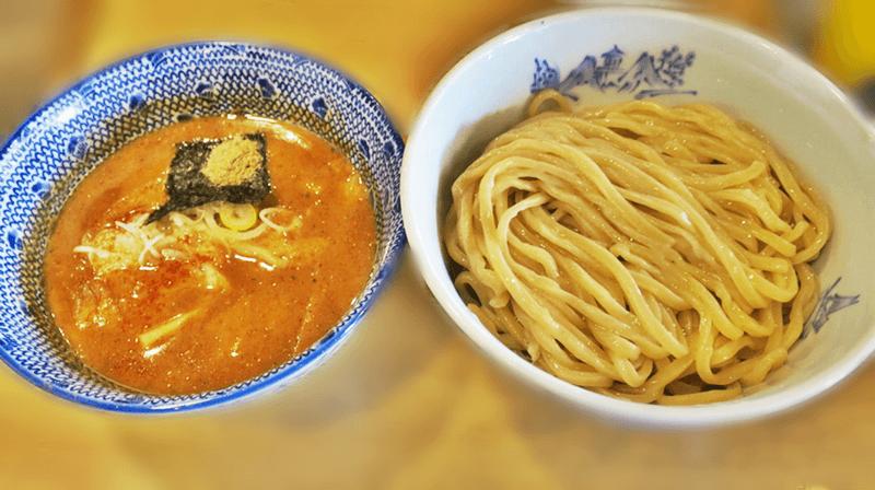 つけ麺 ジンベエ 濃厚魚介豚骨つけ麺(並)