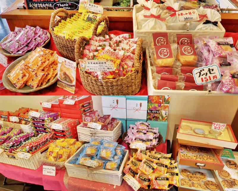 琉球ドルチェテラス 色々なお菓子