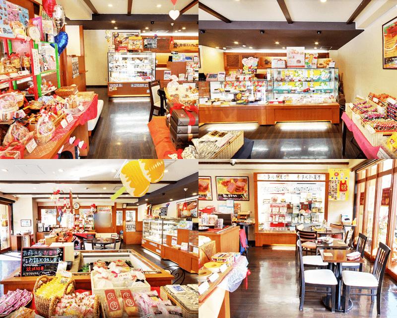 琉球ドルチェテラス 店内の雰囲気