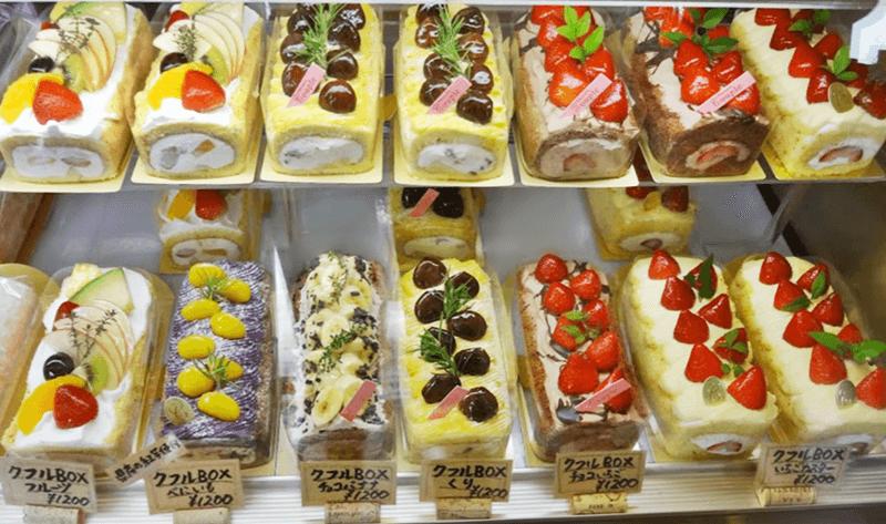 パティスリークプル ロールケーキ