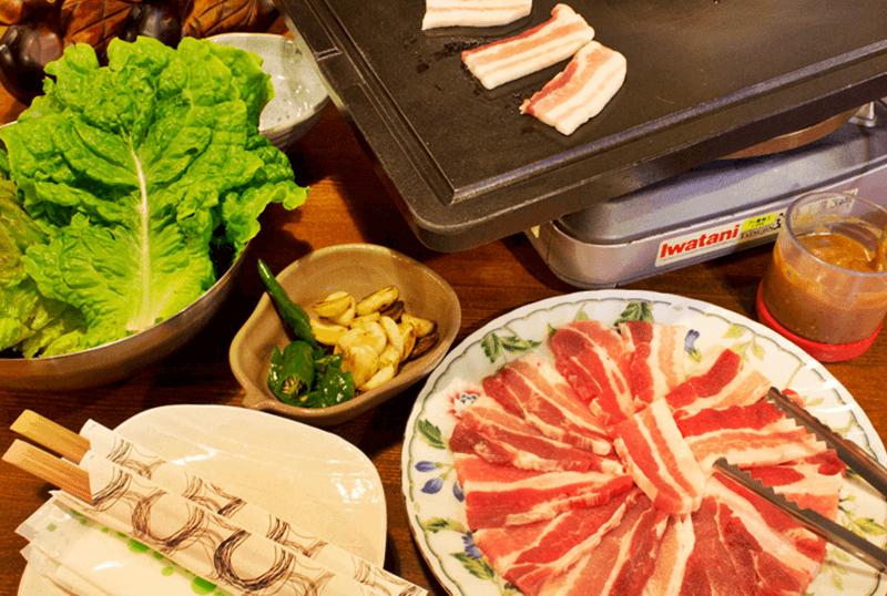 ソウル亭 サムギョプサル(三枚肉)