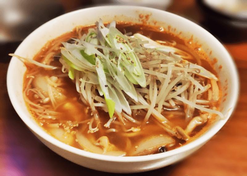 チング家 韓国式チャンポン(キムチ付)