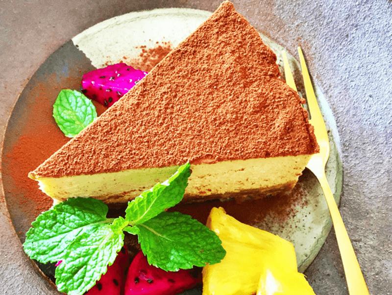 イタリア食堂ha-na 本日のドルチェ「ティラミスチーズケーキ」