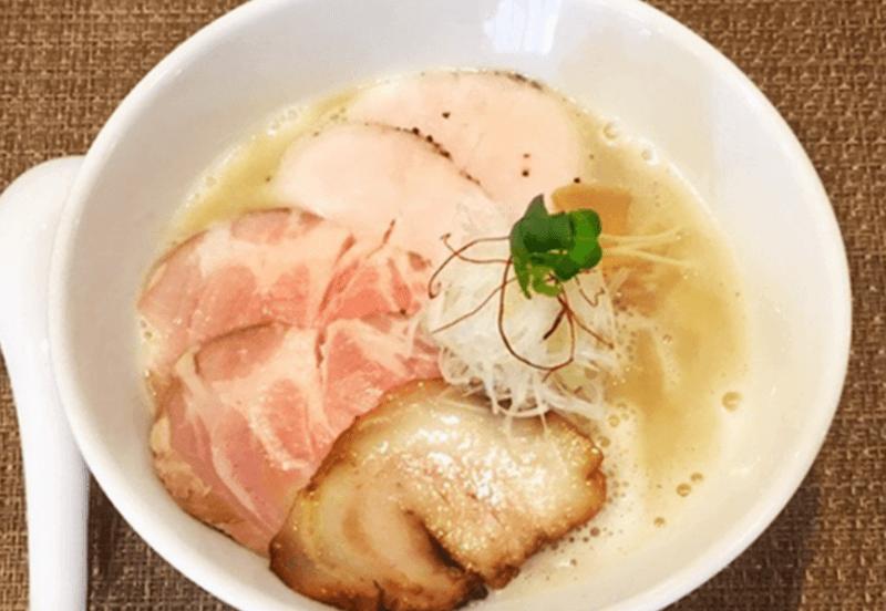 らぁ麺 やな木 鶏白湯らぁ麺(チャーシュー増し)