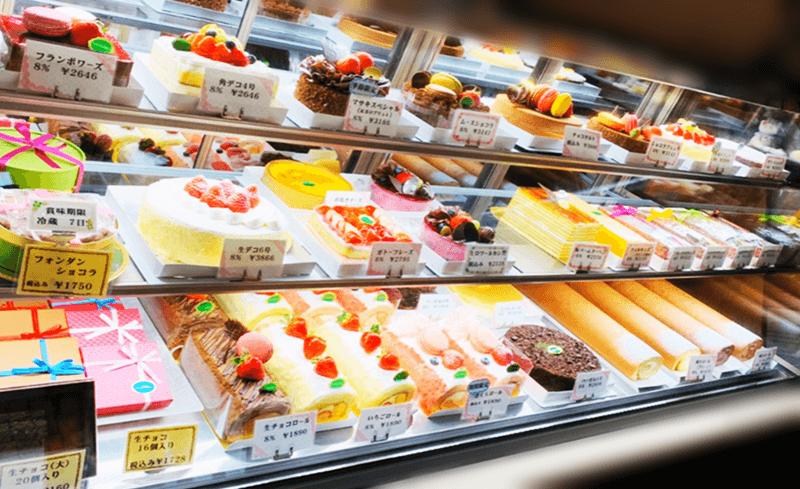 ケーキハウス ナシロ ホールケーキなど