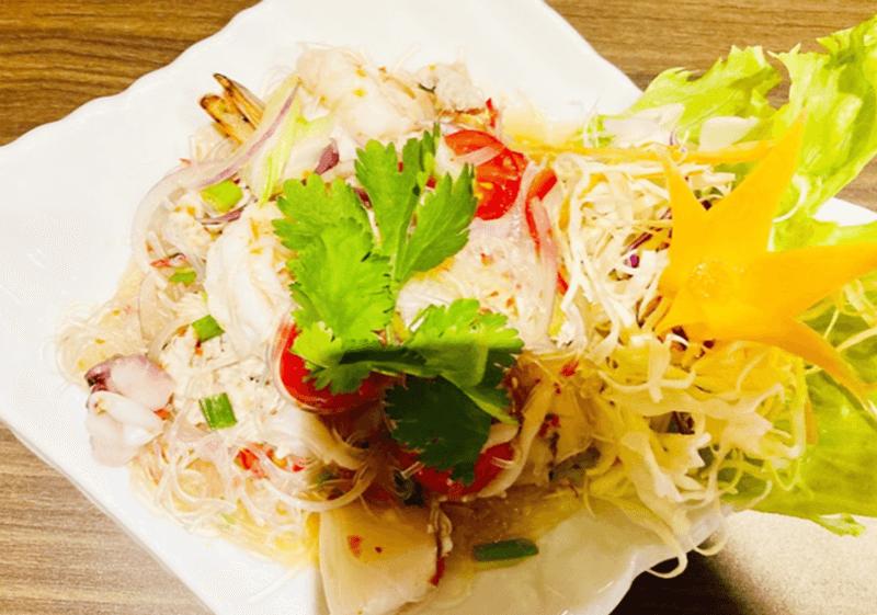 タイ料理 Benjarong(ベンジャロン)ヤム・ウンセン 春雨サラダ(中辛)